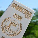 Trophée bois Grand Trail de Clermont-Ferrand