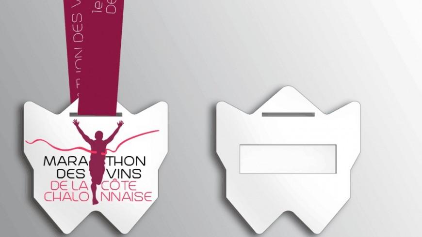 Médaille du marathon des vins de la côte chalonnaise