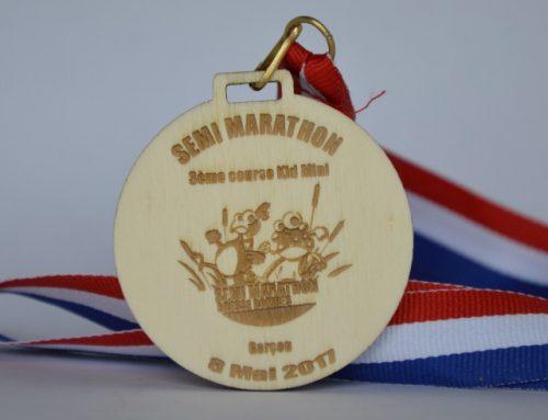 Médaille personnalisée écologique