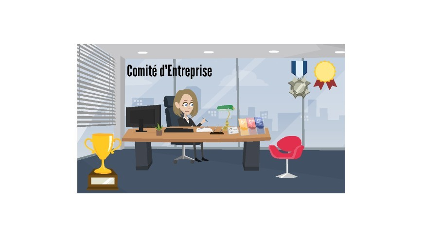 Trophées et goodies comité d'entreprise