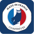 logo made in France et Chartreuse