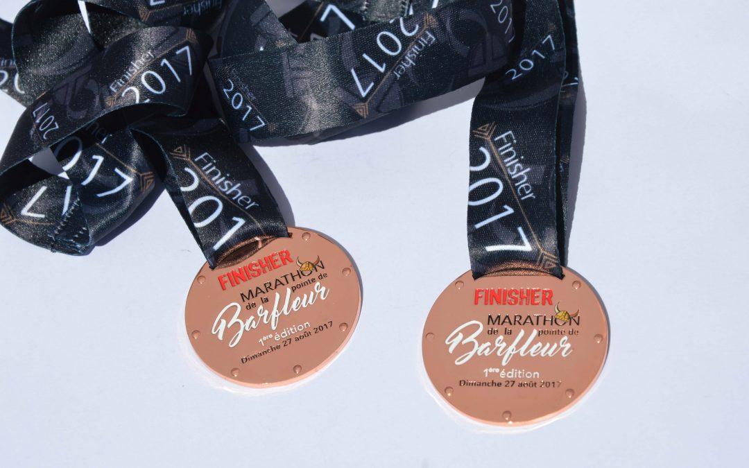 Médaille Marathon de Barfleur