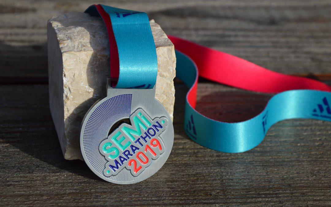 Médaille Semi-Marathon d'Antony
