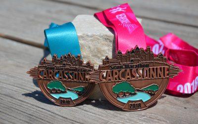 Médaille Semi-Marathon Carcassonne