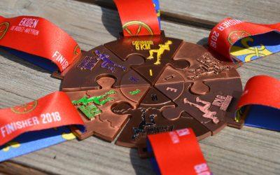 Médaille Ekiden de RODEZ