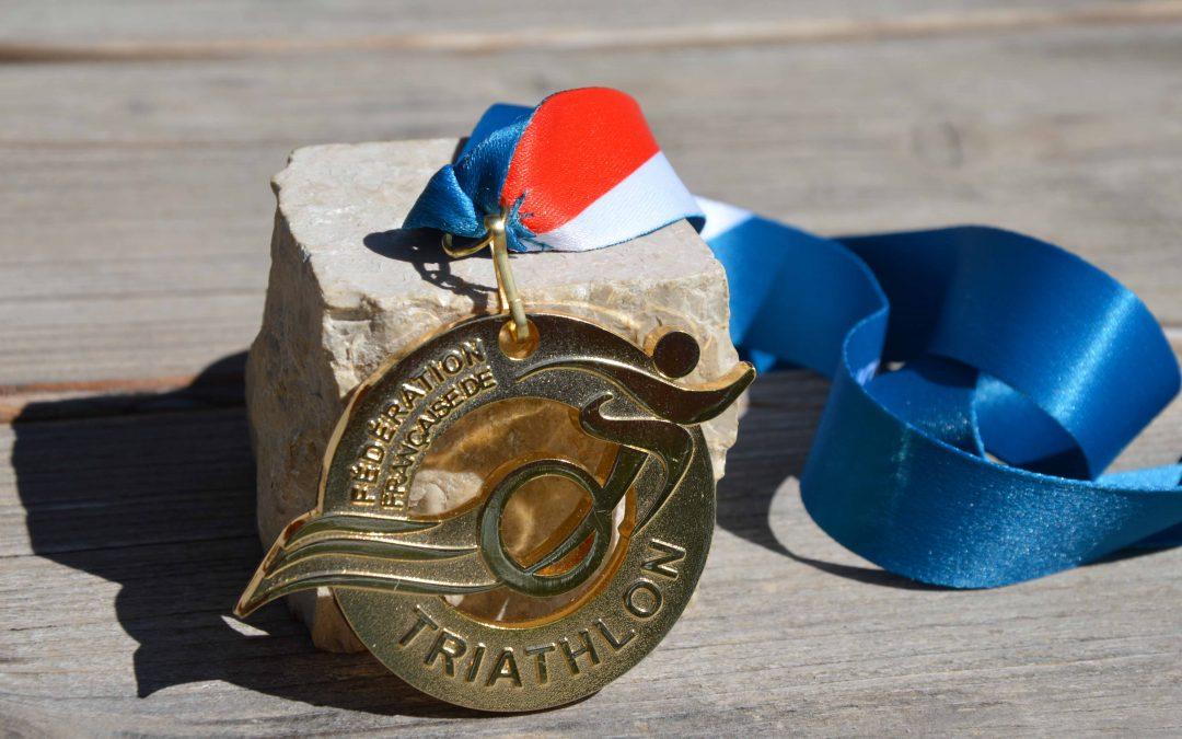 Médaille Fédération Française de Triathlon