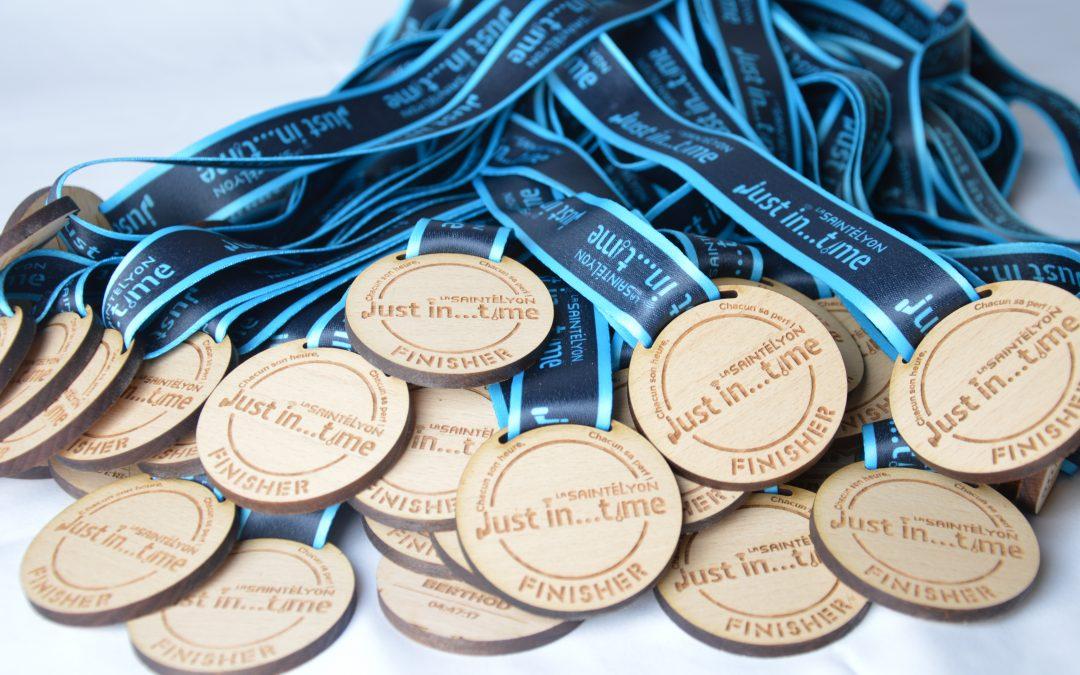 Médaille Santélyon Just in Time