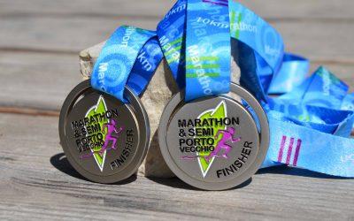 Médaille Marathon et Semi-Marathon Porto Vecchio