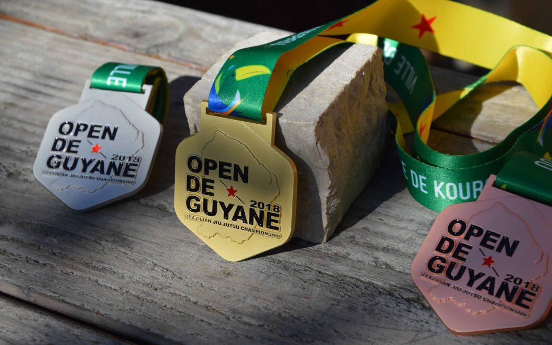 Médaille Open de Guyane