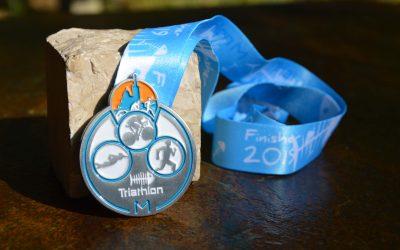 Médaille Triathlon Marseille