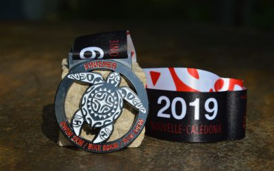 Médaille Triathlon du Lagon