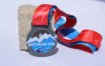Médaille Triathlon du Mont Blanc