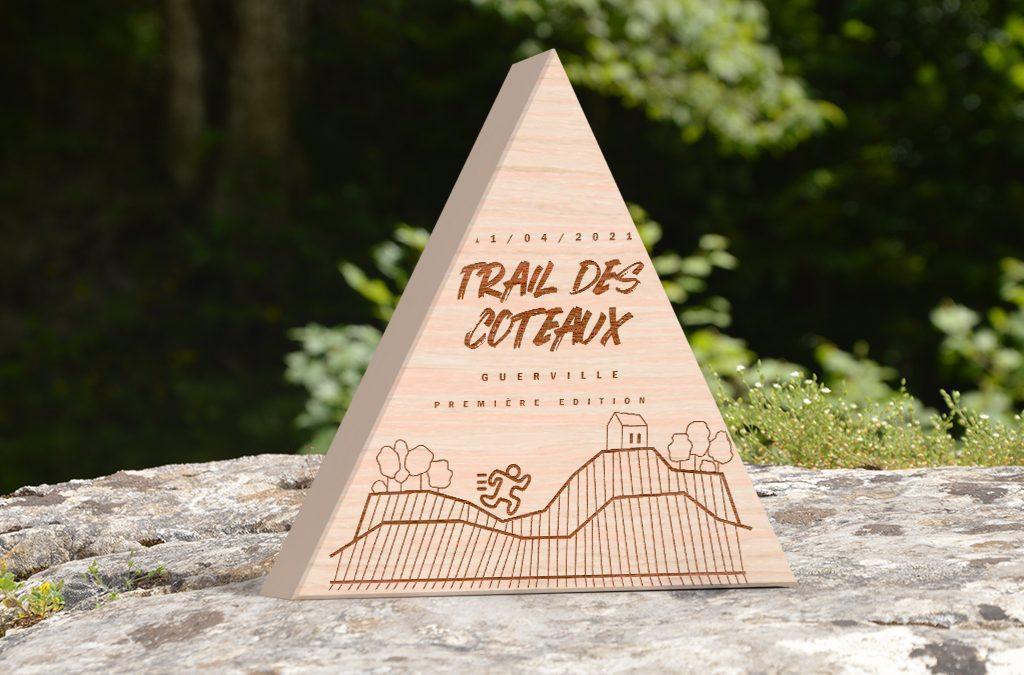 Trophée en bois personnalisé pour Trails