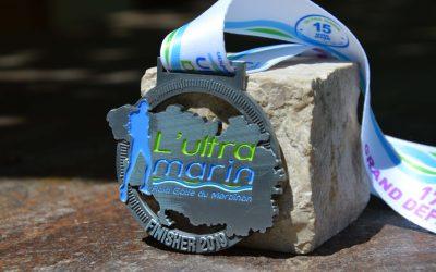 Médaille Finisher Ultra Marin