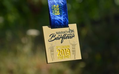 Médaille Marathon Barfleur 2019