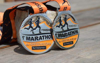 Médaille Marathon Grésivaudan