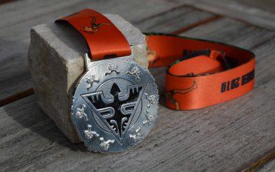 Médaille Finisher Marathon Moorea