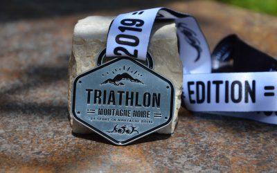 Médaille Triathlon Montagne Noire